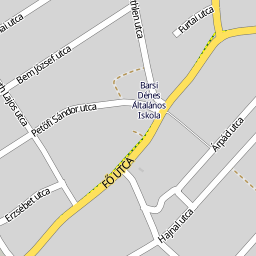 komádi térkép Utcakereso.hu Komádi térkép komádi térkép