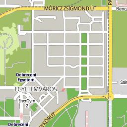 klinika térkép Utcakereso.hu Debrecen térkép klinika térkép