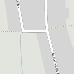 csipkerek térkép Utcakereso.hu Csipkerek   Petőfi utca térkép