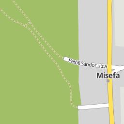 misefa térkép Utcakereso.hu Misefa   Petőfi Sándor utca térkép misefa térkép