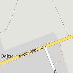 baksa térkép Utcakereso.hu Baksa   Ifjúság utca térkép