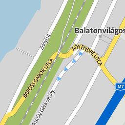 balatonvilágos térkép Utcakereso.hu Balatonvilágos   Balogh Ádám utca térkép balatonvilágos térkép