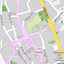 székesfehérvár belváros térkép Utcakereso.hu Székesfehérvár   Kissós utca térkép székesfehérvár belváros térkép