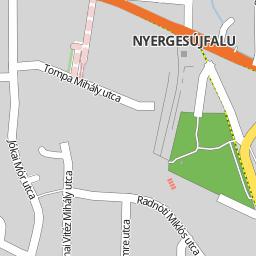 nyergesújfalu térkép Utcakereso.hu Nyergesújfalu   Ady Endre utca térkép nyergesújfalu térkép