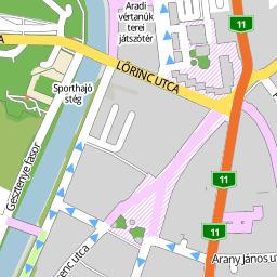utca térkép Utcakereso.hu Esztergom, eladó és kiadó lakások,házak   Jósika  utca térkép
