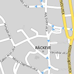 ráckeve térkép Utcakereso.hu Ráckeve   Pipa utca térkép