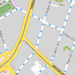 budapest ferencváros térkép Utcakereso.hu Budapest   Dandár köz térkép budapest ferencváros térkép