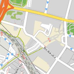 újpest központ térkép Utcakereso.hu Budapest   Újpest térkép