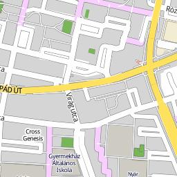 újpest térkép Utcakereso.hu Budapest   Újpest térkép