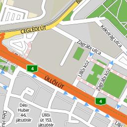 budapest térkép üllői út Utcakereso.hu Budapest, eladó és kiadó lakások,házak   Fertő utca  budapest térkép üllői út