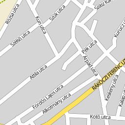 kunszentmiklós térkép Utcakereso.hu Kunszentmiklós   Liszt Ferenc utca térkép kunszentmiklós térkép