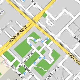 zugló térkép Utcakereso.hu Budapest   Zugló térkép