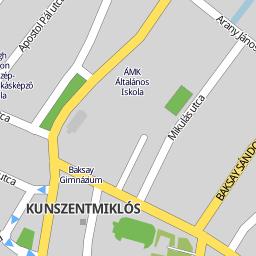 kunszentmiklós térkép Utcakereso.hu Kunszentmiklós   Fürst Sándor utca térkép kunszentmiklós térkép