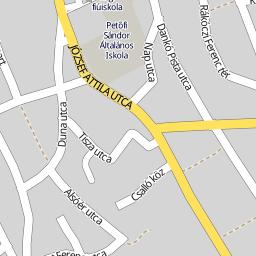 szabadszállás térkép Utcakereso.hu Szabadszállás   Alsótemető sor térkép szabadszállás térkép