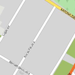 kecskemét katonatelep térkép Utcakereso.hu Kecskemét, eladó és kiadó lakások,házak