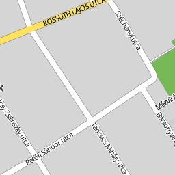 szászberek térkép Utcakereso.hu Szászberek   Bajcsy Zsilinszky utca térkép
