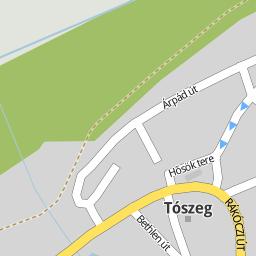tószeg térkép Utcakereso.hu Tószeg   Árpád út térkép tószeg térkép