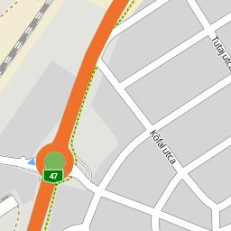 téglás térkép Utcakereso.hu Algyő   Egri utca térkép téglás térkép