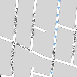 szandaszőlős térkép Utcakereso.hu Szolnok   Kiss János utca térkép