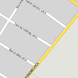 csabacsűd térkép Utcakereso.hu Csabacsűd   Táncsics Mihály utca térkép