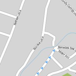 sajószentpéter térkép Utcakereso.hu Sajószentpéter   Bors vezér utca térkép sajószentpéter térkép