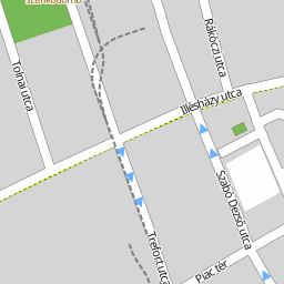 békéscsaba utca térkép Utcakereso.hu Békéscsaba   Kazinczy utca térkép