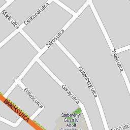 békéscsaba utca térkép Utcakereso.hu Békéscsaba   Szigetvári utca térkép