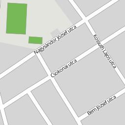 komádi térkép Utcakereso.hu Komádi   Erzsébet utca térkép komádi térkép