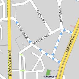 debrecen vénkert térkép Utcakereso.hu Debrecen   Csóka utca térkép debrecen vénkert térkép