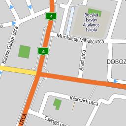 debrecen utca térkép Utcakereso.hu Debrecen   Nektár utca térkép debrecen utca térkép