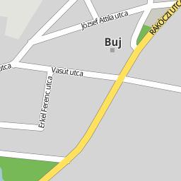 ibrány térkép Utcakereso.hu Ibrány   Táncsics utca térkép ibrány térkép